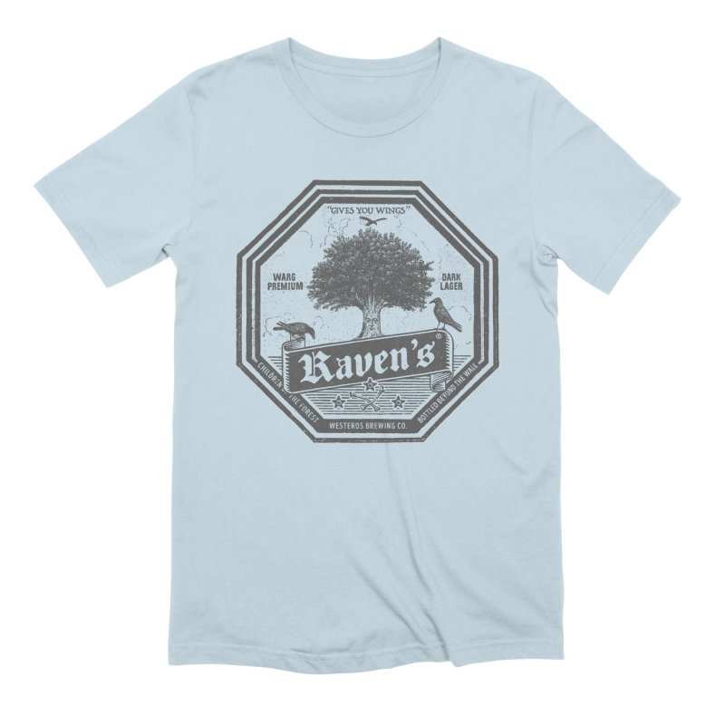Raven's Men's Extra Soft T-Shirt by Victor Calahan