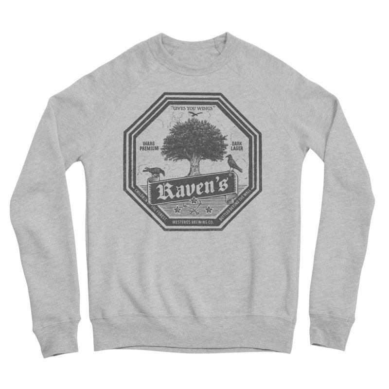 Raven's Men's Sponge Fleece Sweatshirt by Victor Calahan