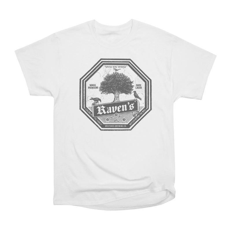 Raven's Women's Heavyweight Unisex T-Shirt by Victor Calahan