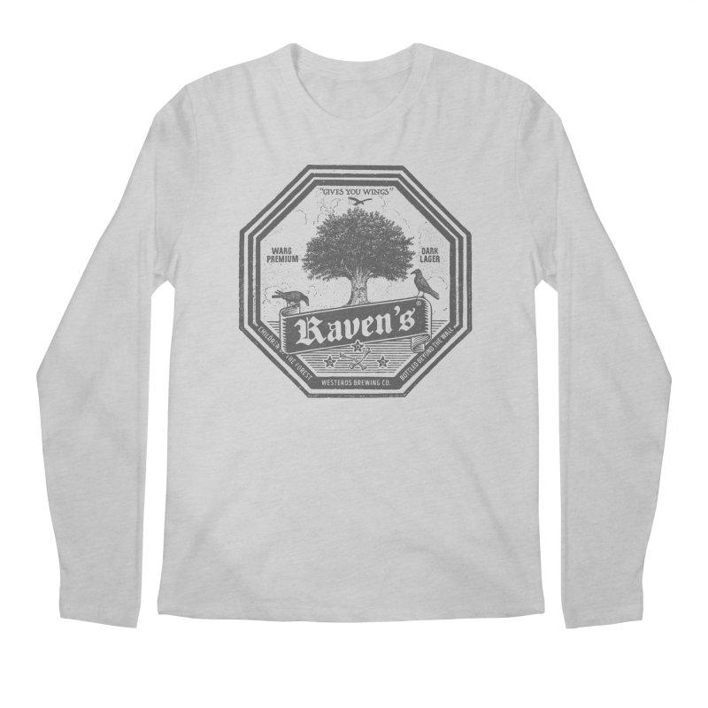 Raven's Men's Regular Longsleeve T-Shirt by Victor Calahan