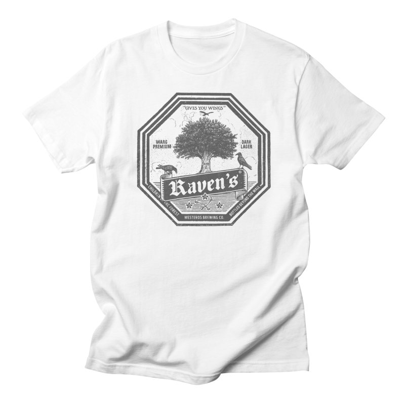 Raven's Men's Regular T-Shirt by Victor Calahan