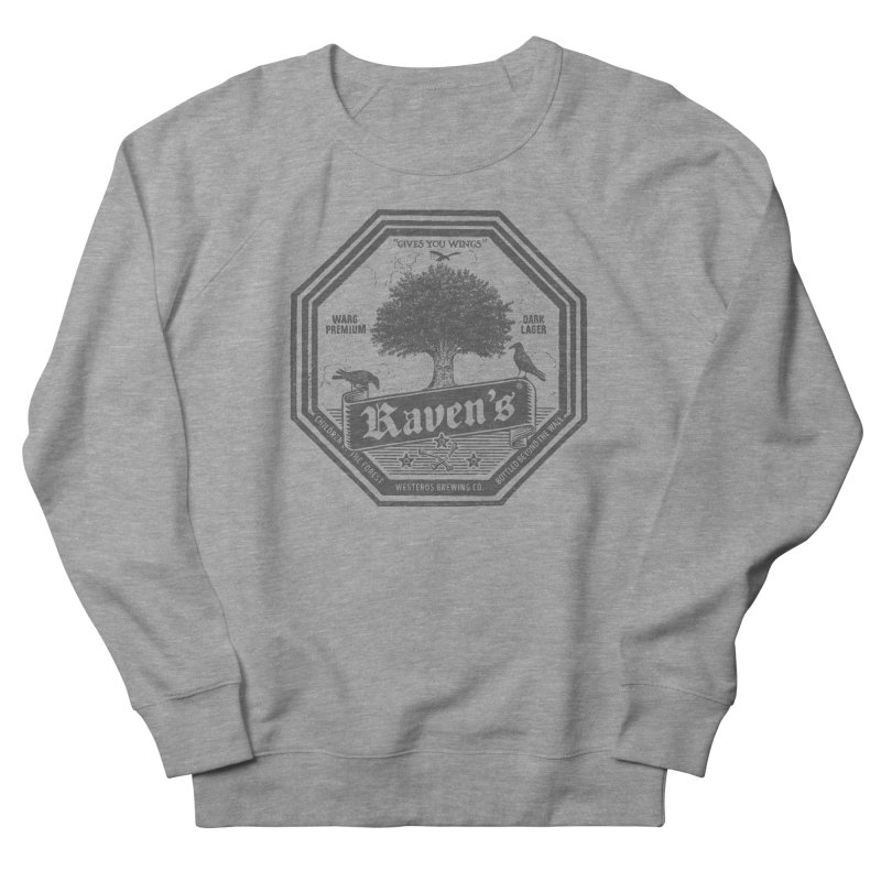 Raven's Women's French Terry Sweatshirt by Victor Calahan