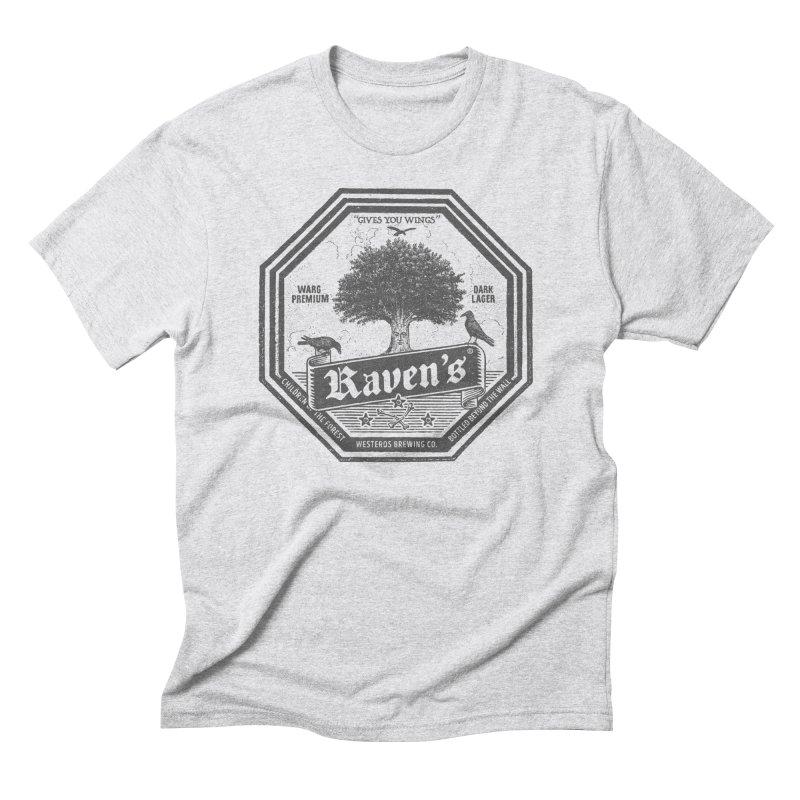 Raven's Men's Triblend T-Shirt by Victor Calahan