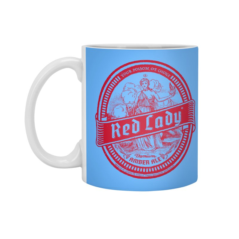 Red Lady Accessories Standard Mug by Victor Calahan