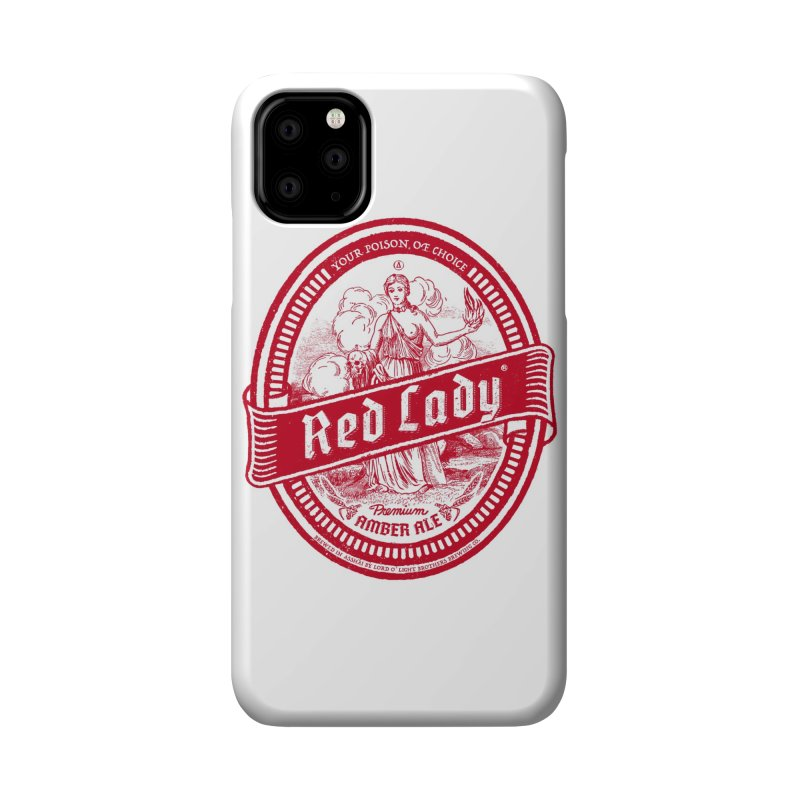 Red Lady Accessories Phone Case by Victor Calahan