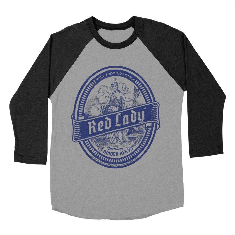 Red Lady's Women's Baseball Triblend T-Shirt by Victor Calahan