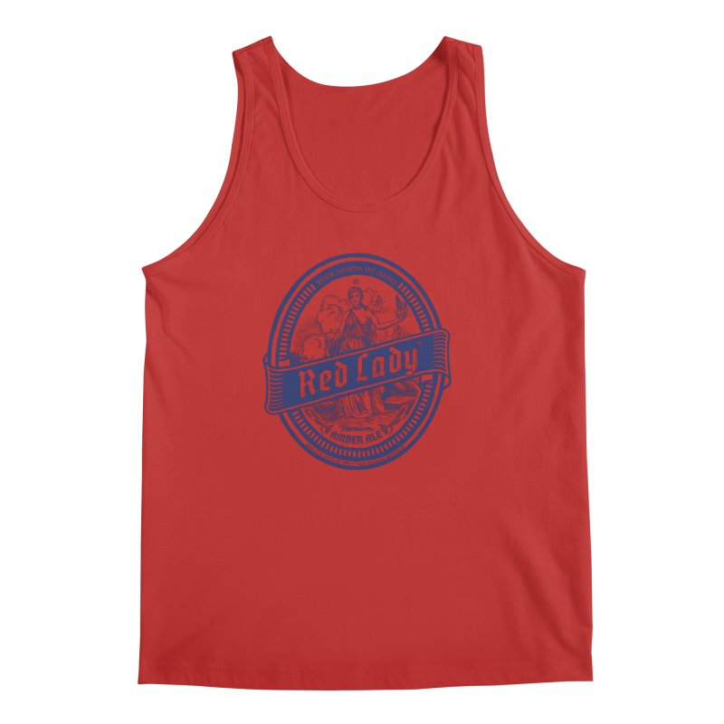 Red Lady's Men's Tank by Victor Calahan