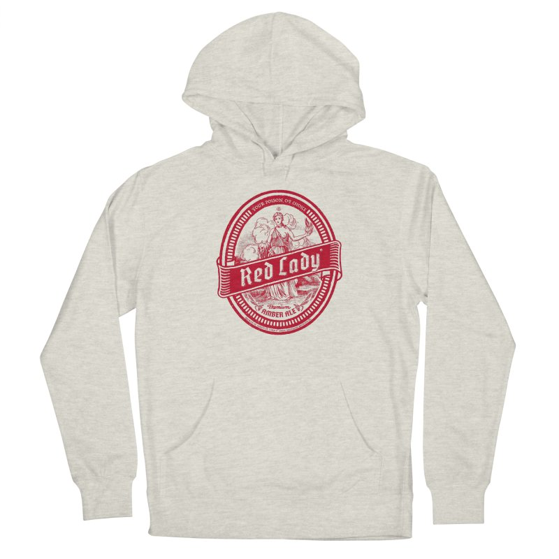 Red Lady Men's Pullover Hoody by Victor Calahan