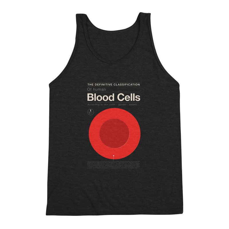 One Cell to Rule Them All Men's Triblend Tank by Victor Calahan