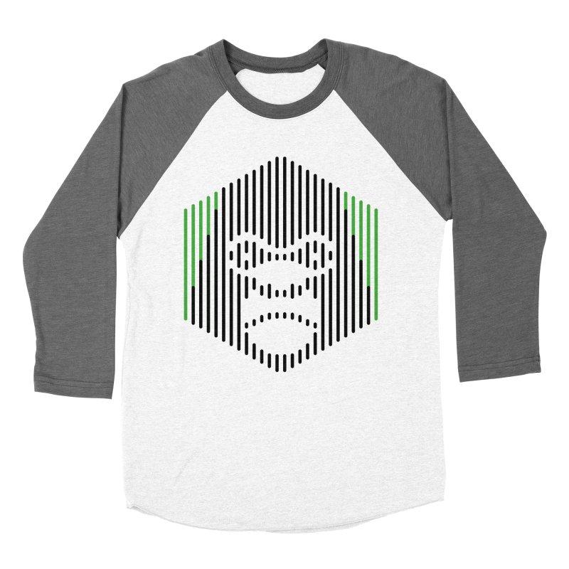Gorilla Women's Baseball Triblend T-Shirt by Victor Calahan