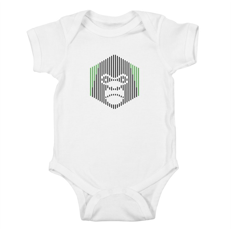 Gorilla Kids Baby Bodysuit by Victor Calahan
