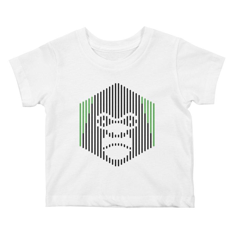 Gorilla Kids Baby T-Shirt by Victor Calahan
