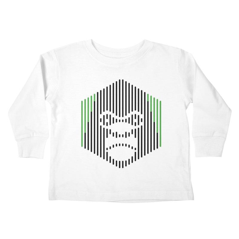 Gorilla Kids Toddler Longsleeve T-Shirt by Victor Calahan