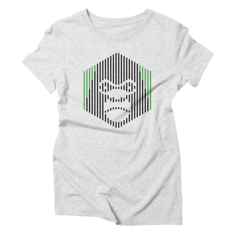 Gorilla Women's Triblend T-Shirt by Victor Calahan