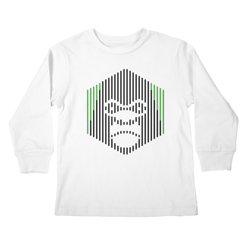 Gorilla Kids Longsleeve T-Shirt by Victor Calahan