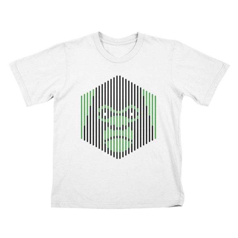 Apertures Kids T-Shirt by Victor Calahan