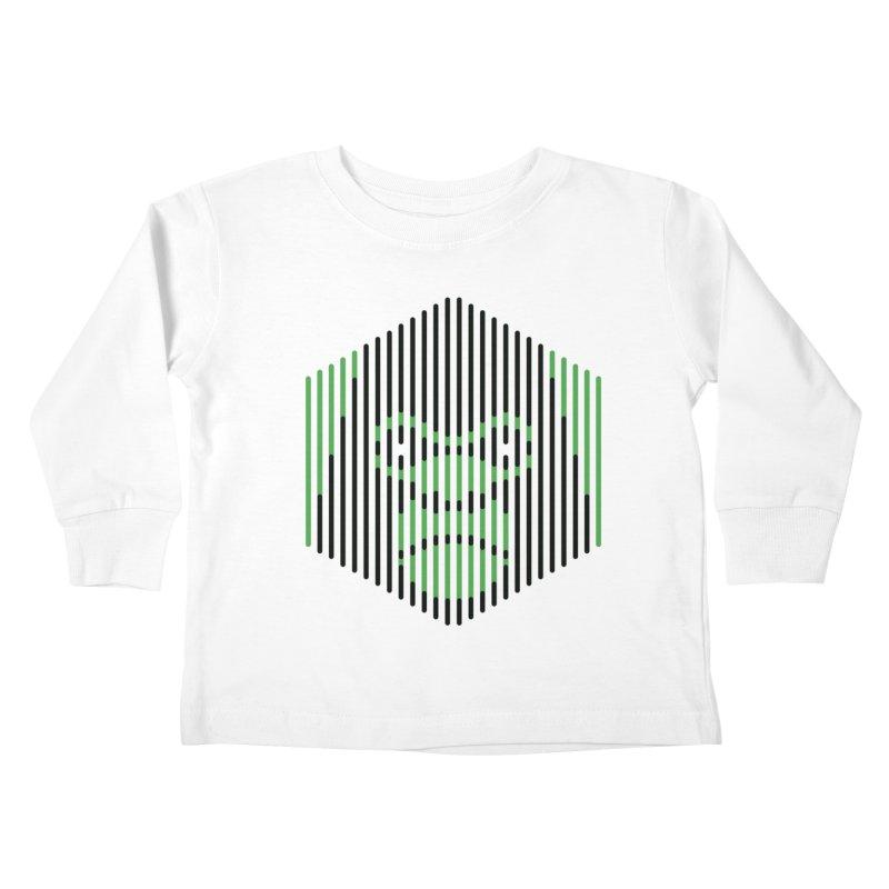 Apertures Kids Toddler Longsleeve T-Shirt by Victor Calahan