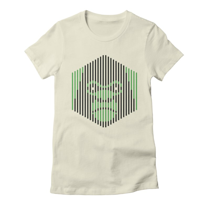 Apertures Women's Fitted T-Shirt by Victor Calahan