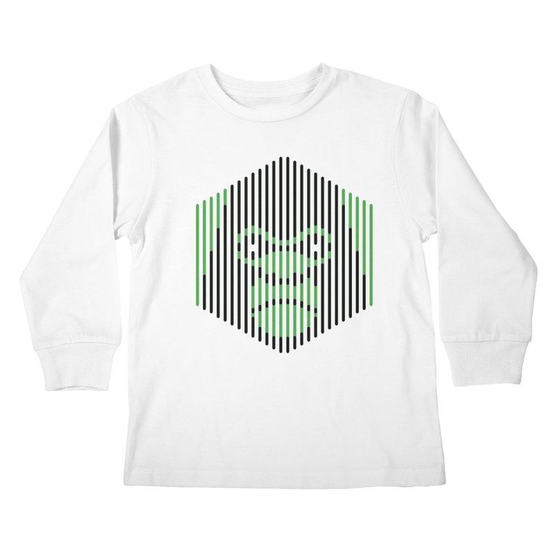 Apertures Kids Longsleeve T-Shirt by Victor Calahan