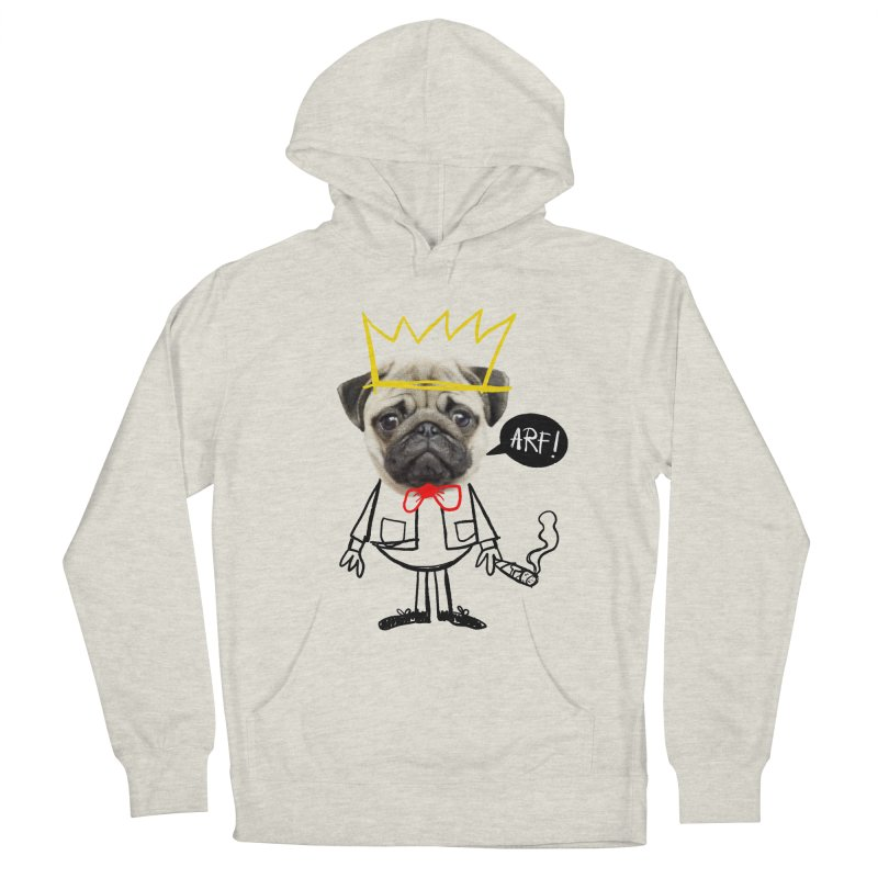 Arf! Men's Pullover Hoody by Victor Calahan