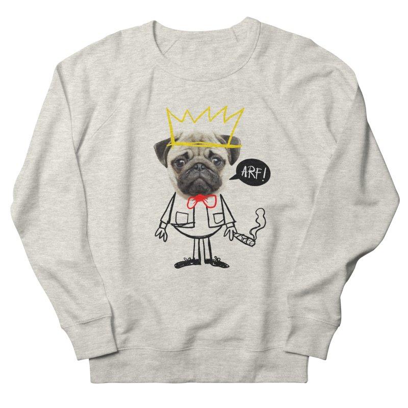 Arf! Men's Sweatshirt by Victor Calahan
