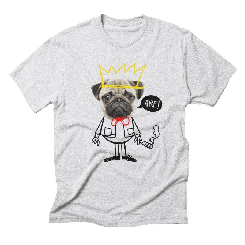 Arf! Men's Triblend T-Shirt by Victor Calahan
