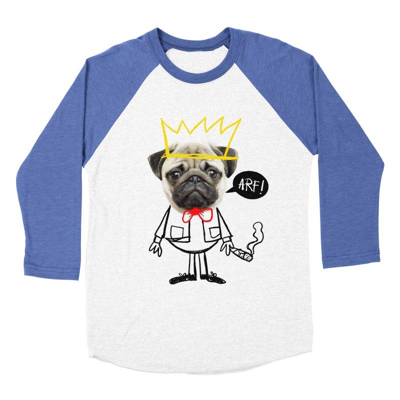Arf! Women's Baseball Triblend T-Shirt by Victor Calahan