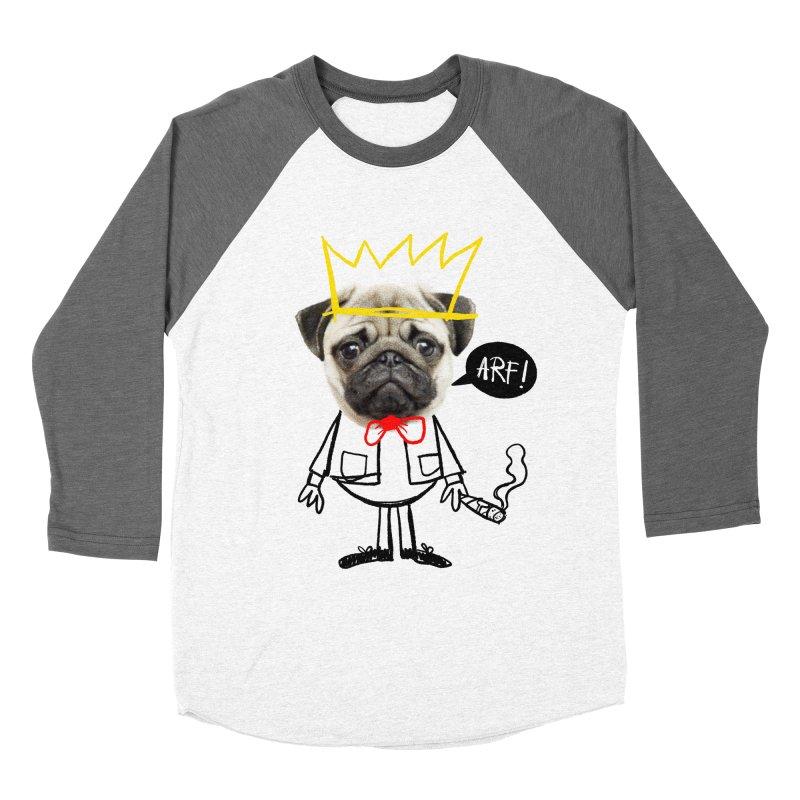 Arf! Men's Baseball Triblend T-Shirt by Victor Calahan