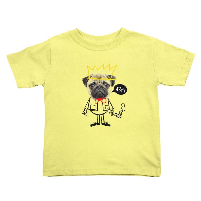 Arf! Kids Toddler T-Shirt by Victor Calahan