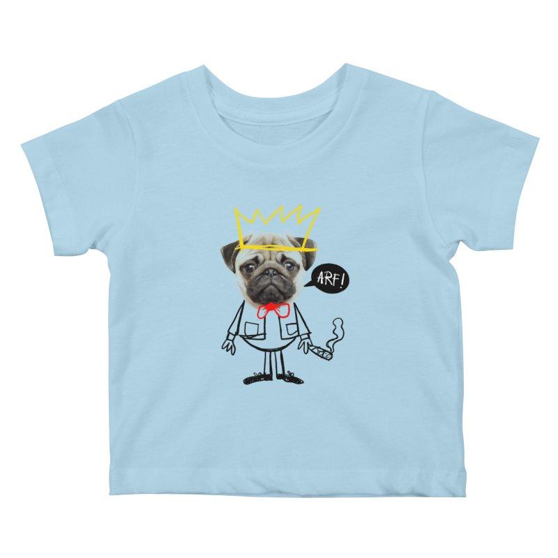 Arf! Kids Baby T-Shirt by Victor Calahan