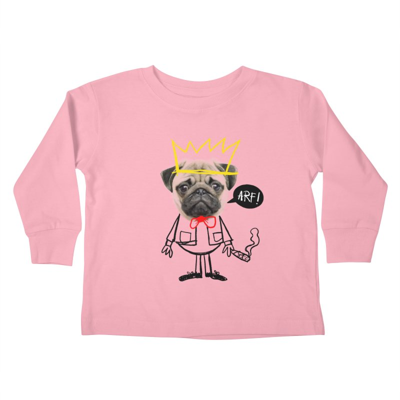Arf! Kids Toddler Longsleeve T-Shirt by Victor Calahan