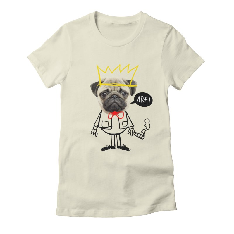 Arf! Women's Fitted T-Shirt by Victor Calahan