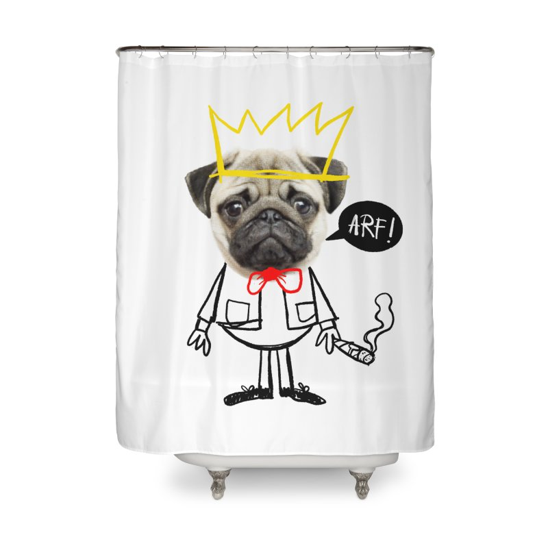 Arf! Home Shower Curtain by Victor Calahan