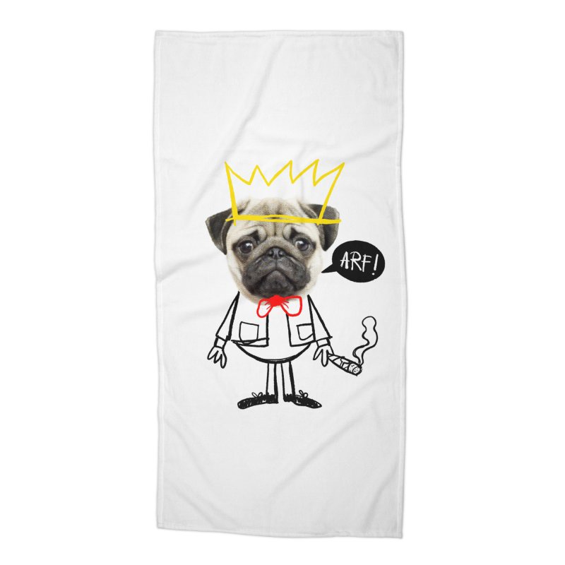 Arf! Accessories Beach Towel by Victor Calahan