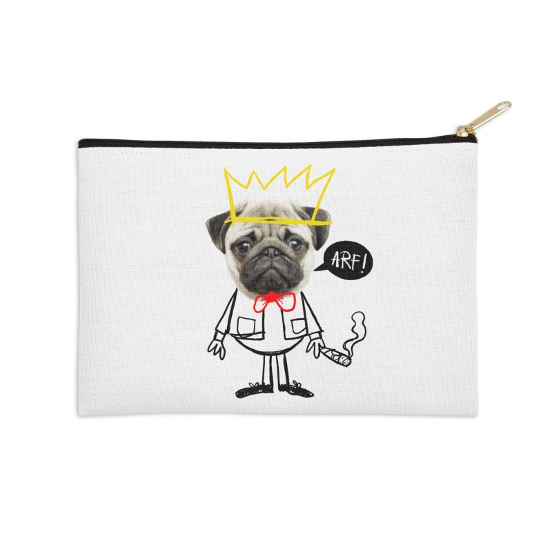 Arf! Accessories Zip Pouch by Victor Calahan
