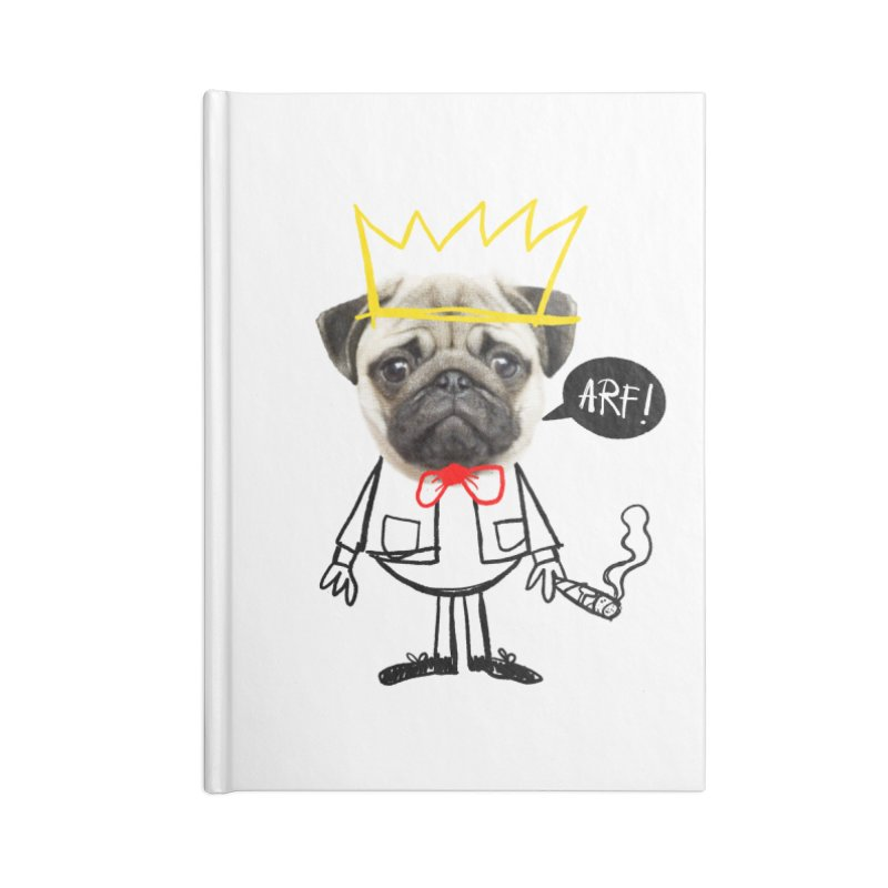 Arf! Accessories Notebook by Victor Calahan