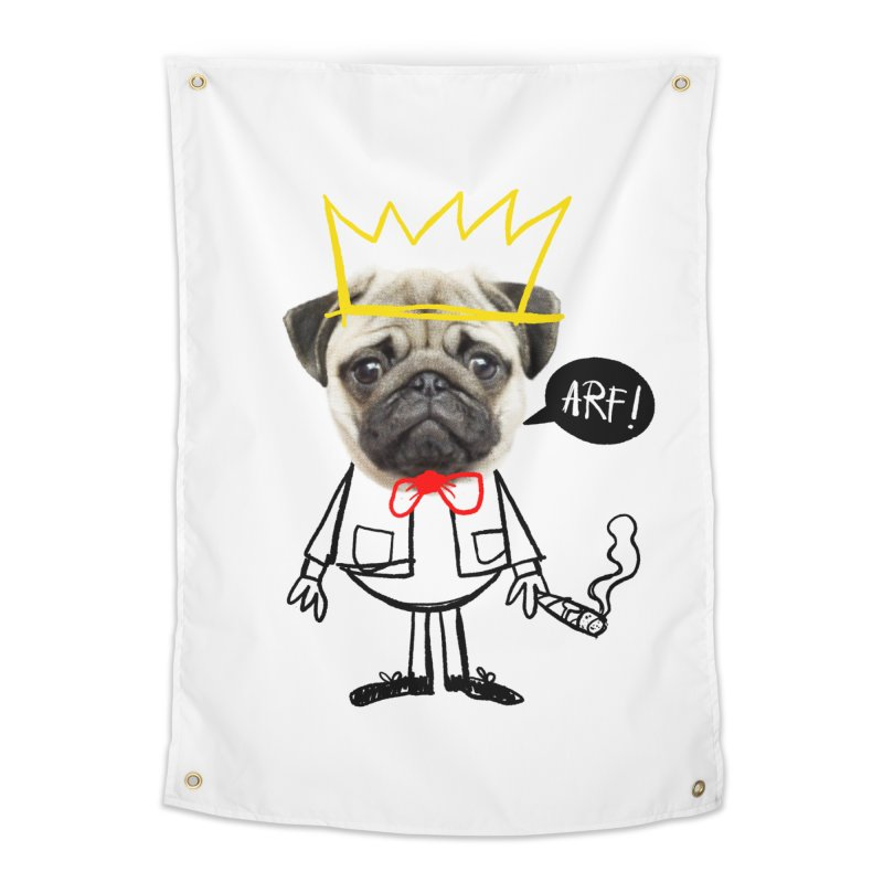 Arf! Home Tapestry by Victor Calahan