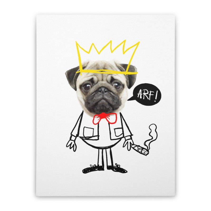 Arf! Home Stretched Canvas by Victor Calahan