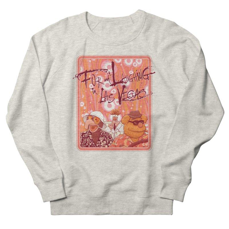 Fur And Laughing in Las Vegas Men's Sweatshirt by Victor Calahan