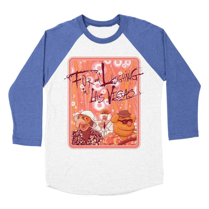Fur And Laughing in Las Vegas Men's Baseball Triblend T-Shirt by Victor Calahan