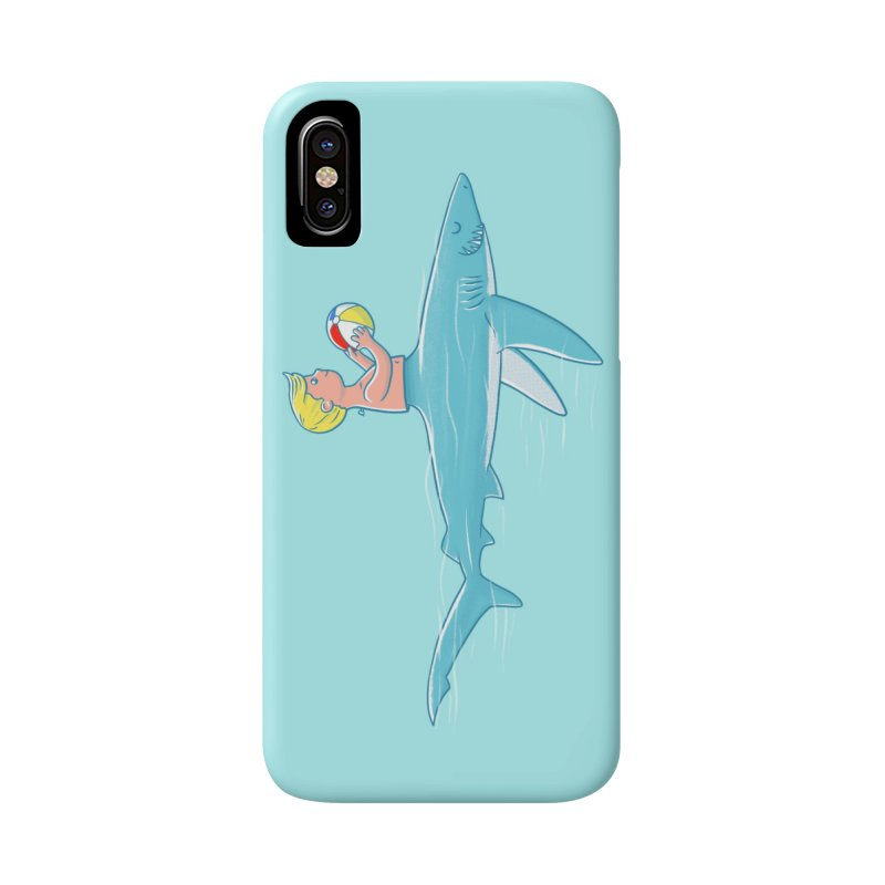 Shark Bait Accessories Phone Case by Victor Calahan