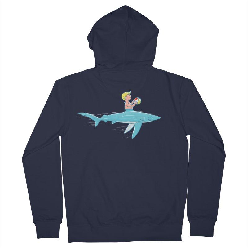 Shark Bait Women's Zip-Up Hoody by Victor Calahan