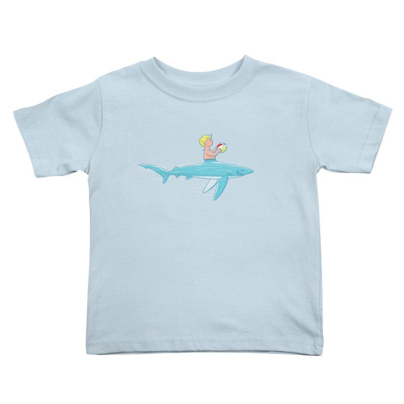 Shark Bait Kids Toddler T-Shirt by Victor Calahan