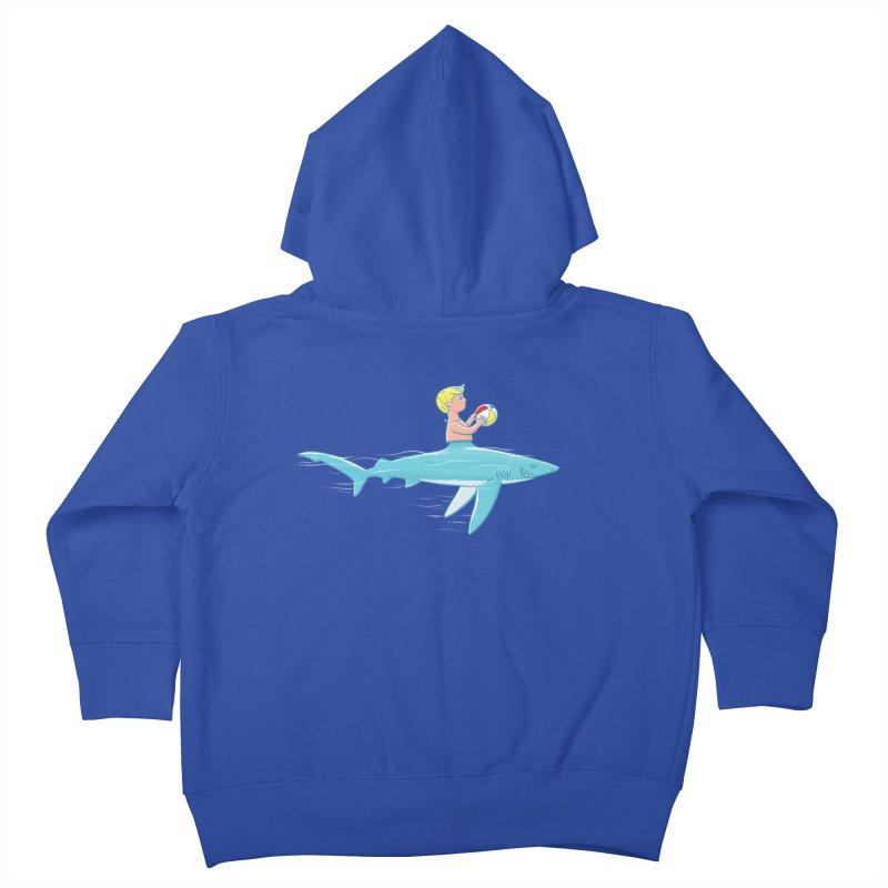 Shark Bait Kids Toddler Zip-Up Hoody by Victor Calahan