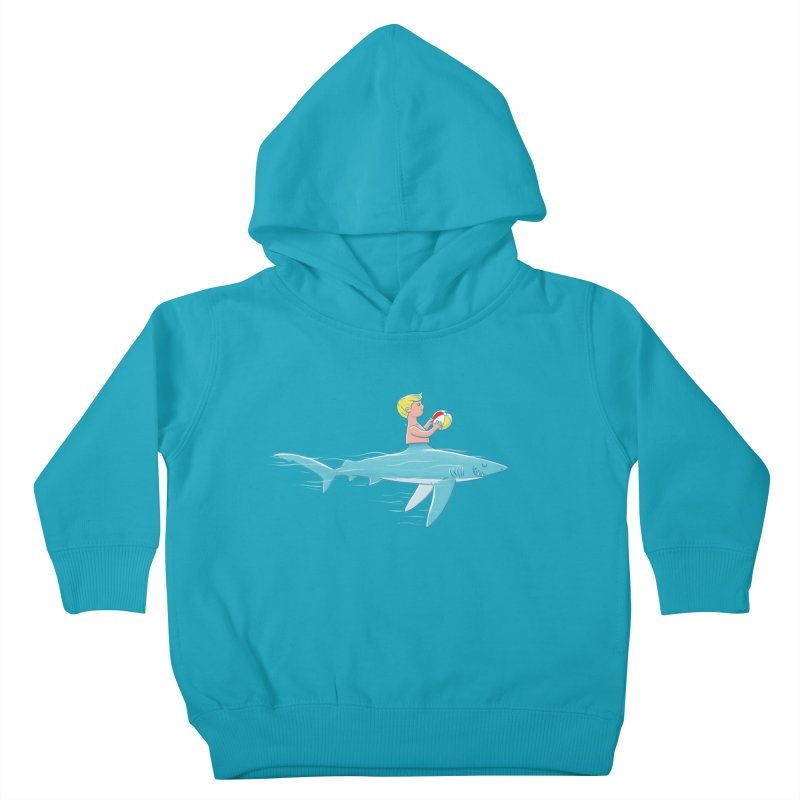 Shark Bait Kids Toddler Pullover Hoody by Victor Calahan