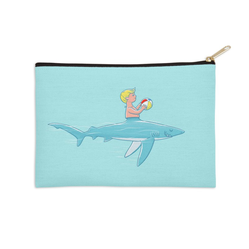 Shark Bait Accessories Zip Pouch by Victor Calahan