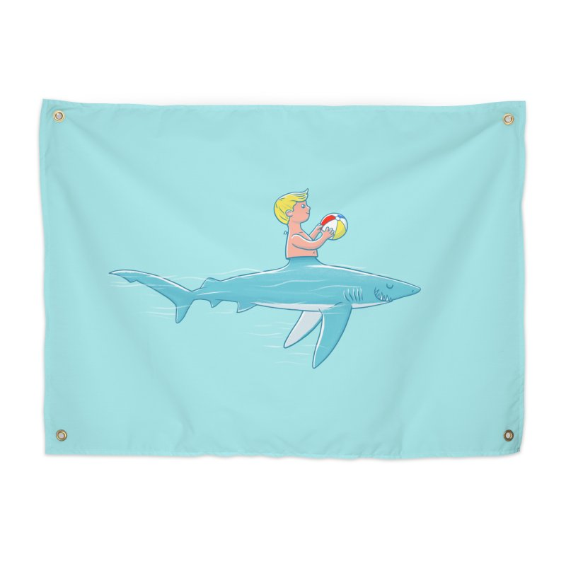 Shark Bait Home Tapestry by Victor Calahan