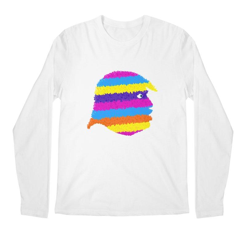 Trumpiñata Men's Longsleeve T-Shirt by Victor Calahan