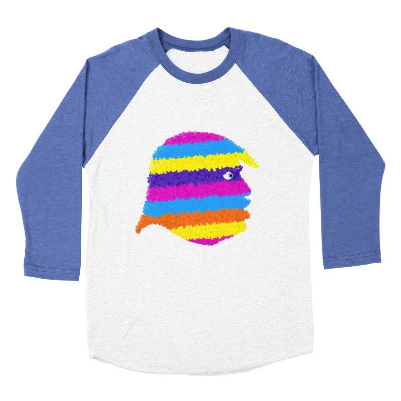 Trumpiñata Men's Baseball Triblend T-Shirt by Victor Calahan