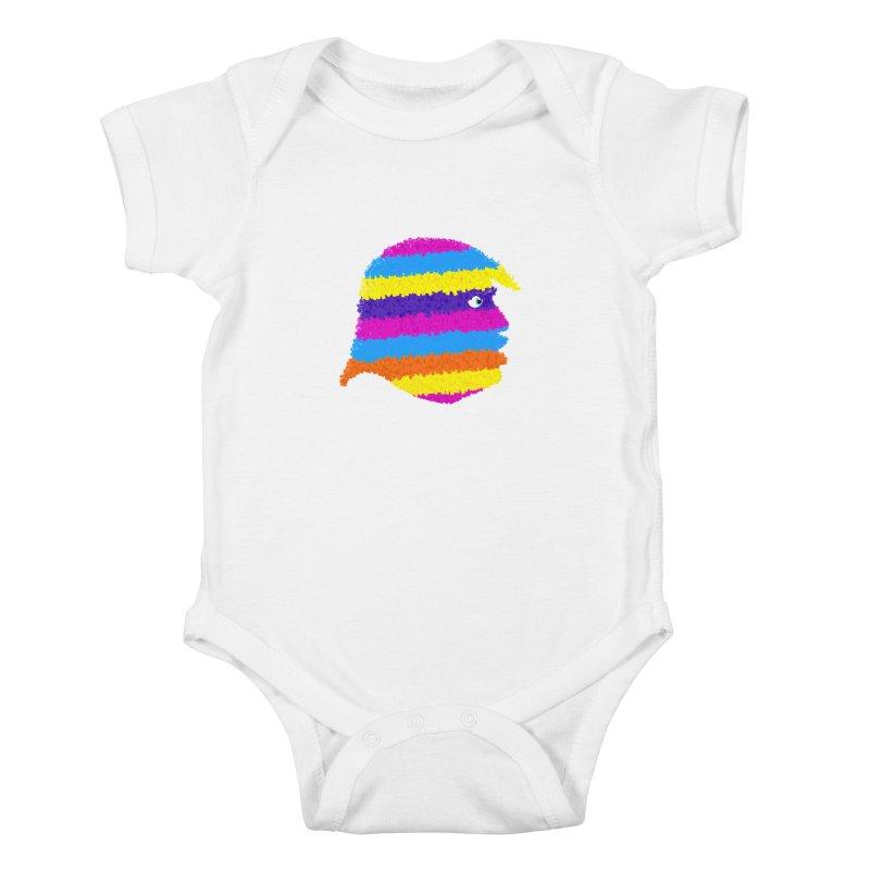 Trumpiñata Kids Baby Bodysuit by Victor Calahan